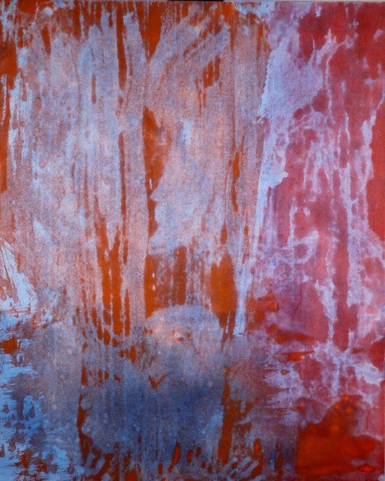 Lost Language painting by Brady Legler 48x60
