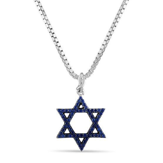 star of david necklace designed by Brady Legler
